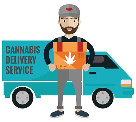 cannabis delivery service